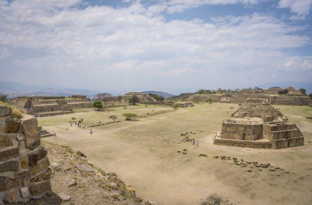 Mexiko Urlaub Rundreise Oaxaca de Juarez Monte Alban