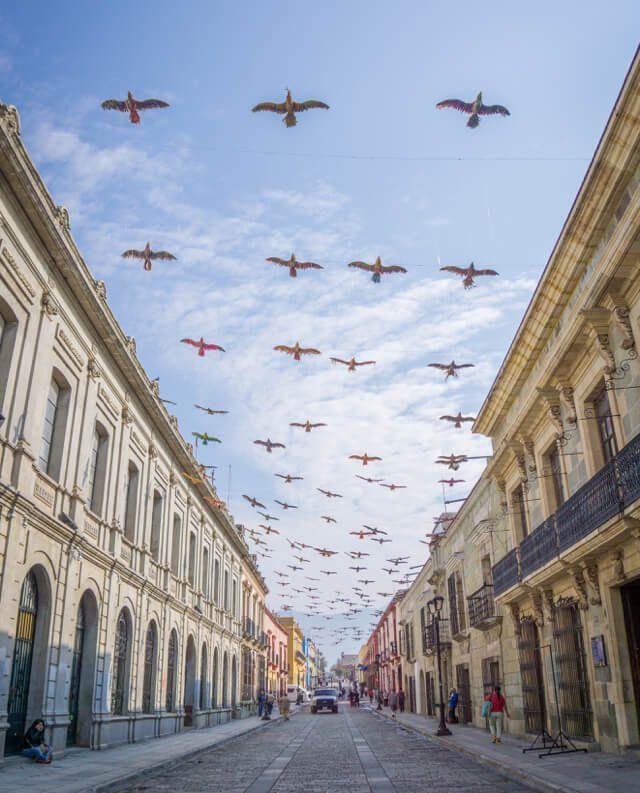 Mexiko Urlaub Rundreise Oaxaca de Juarez Strasse