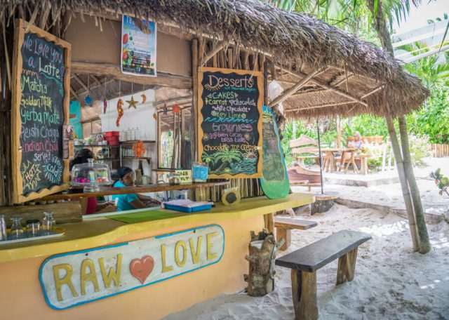 Mexiko Urlaub Rundreise Tulum Cafe Raw Love