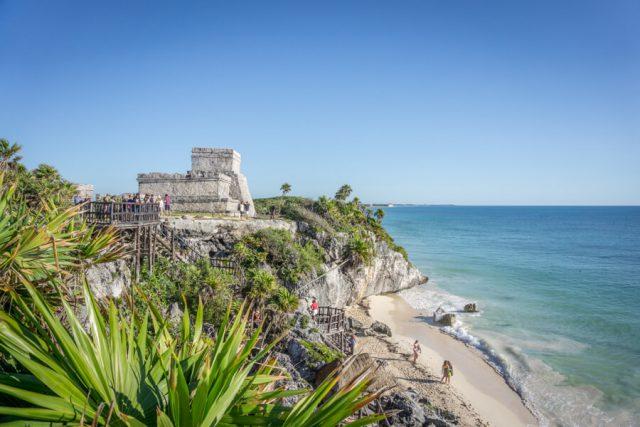 Mexiko Urlaub Rundreise Tulum Maya Ruine