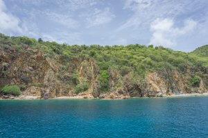 Tortola British Virgin Islands Karibik Britische Jungferninseln Norman Island