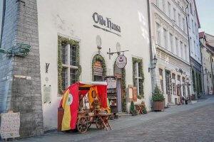 Urlaub Reiseziele August Tallinn Estland Altstadt