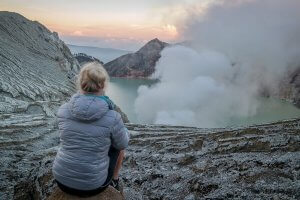 Urlaub Reiseziele August Java Mt Ijen Vulkan
