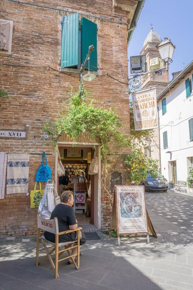 Emilia Romagna Italien Marche