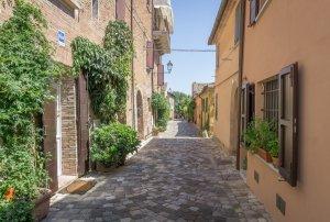 Emilia Romagna Italien Santarcangelo