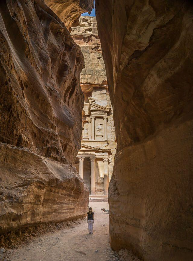 Jordanien Rundreise Urlaub Felsenstadt Petra Schatzhaus