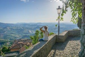 San Marino Aussicht
