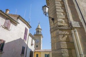 San Marino Borgo Maggiore Clock Tower