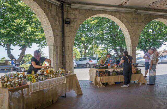 San Marino Borgo Maggiore Markt