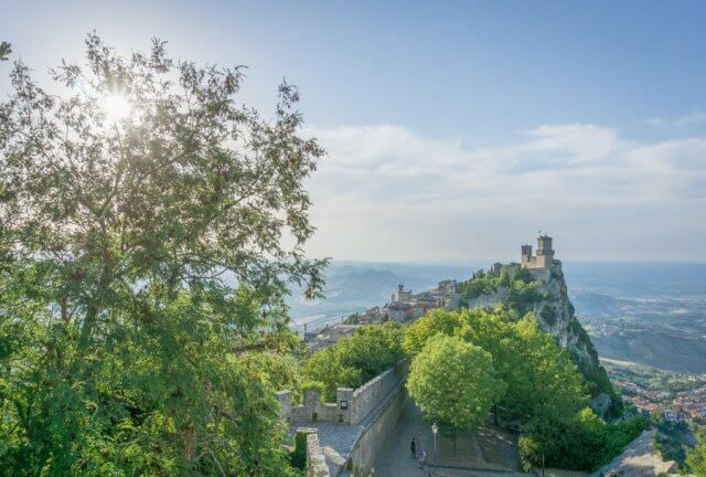 San Marino Burg Festung