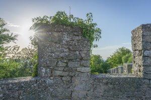 San Marino Burgmauer
