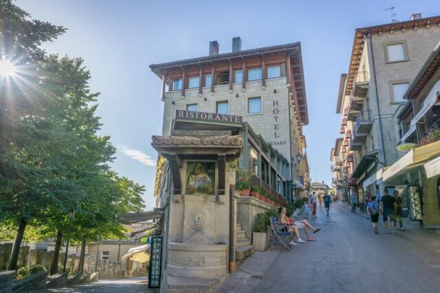 San Marino Hotel Cesare