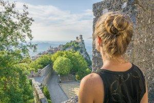San Marino Tower Aussicht