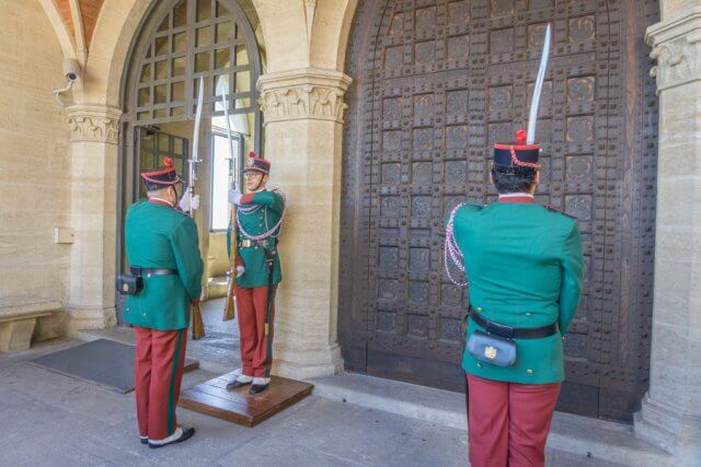 San Marino Wachwechsel Militaer