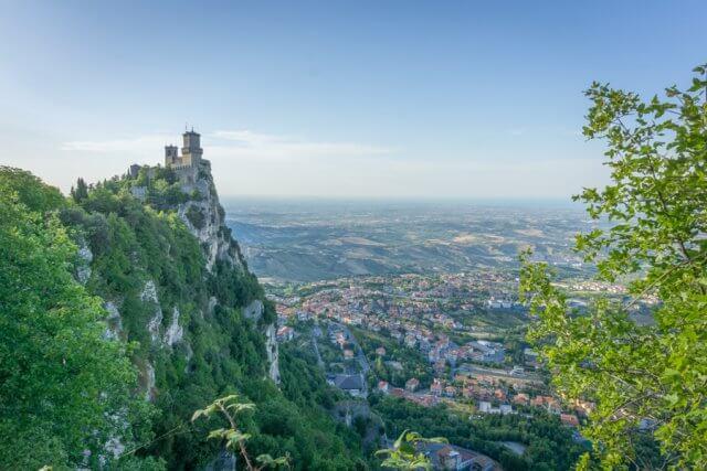 San Marino erster Turm