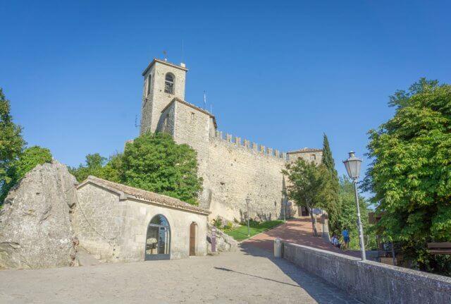 San Marino zweiter Turm