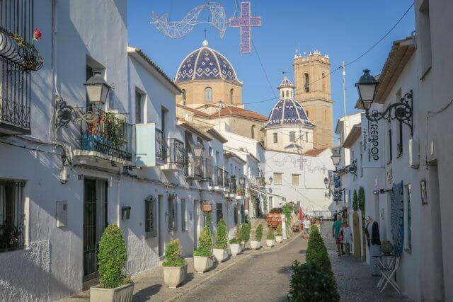 Spanien Altea Reiseziele September