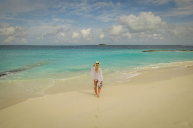 Malediven Inseln Reethi Beach Strand