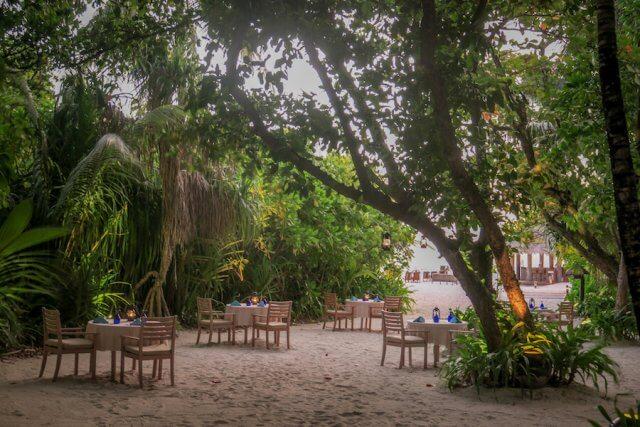Malediven Reise Coco Palm Dhuni Thai Restaurant
