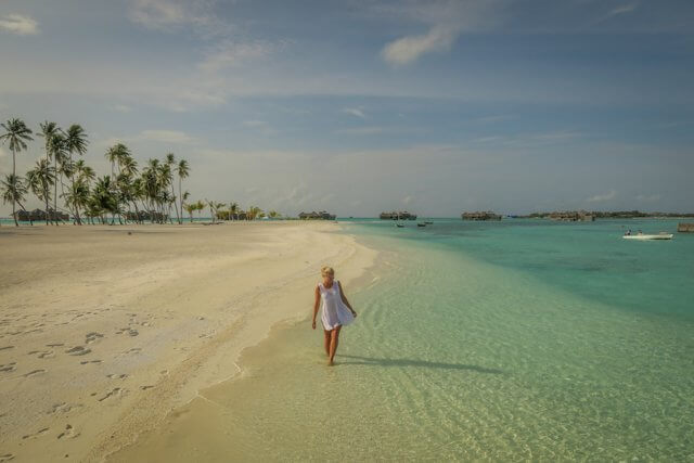 Malediven Urlaub Gili Lankanfushi Strand