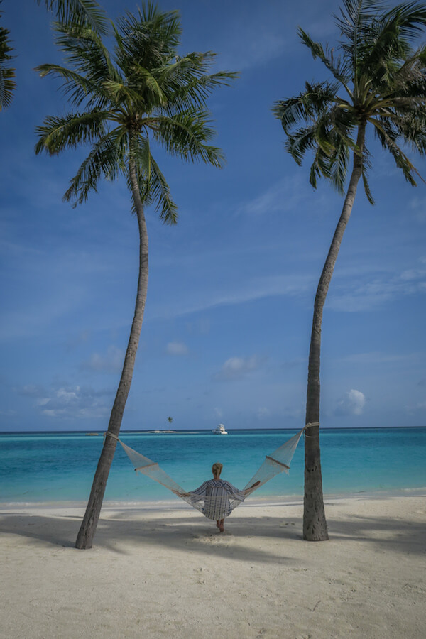 Malediven Urlaub 12Malediven Urlaub Gili Lankanfushi Hängematte