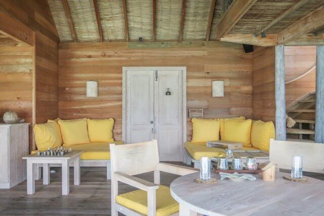 Malediven Urlaub Gili Lankanfushi Villa Wohnzimmer