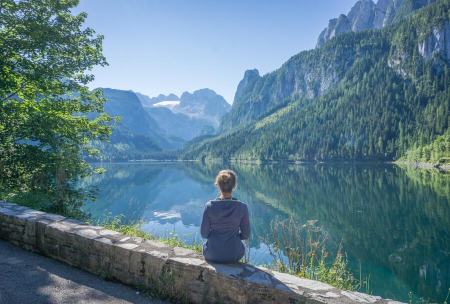 Oberoesterreich Dachstein Salzkammergut See