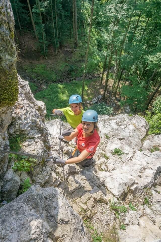 Oberoesterreich Pyhrn-Priel Klettersteig