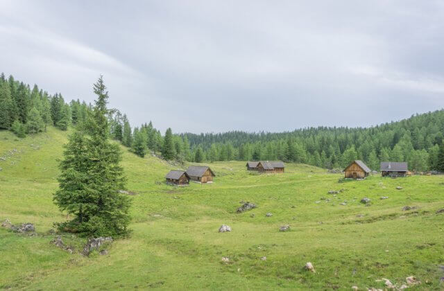 Oberoesterreich Pyhrn-Priel Wanderung Rote Wand