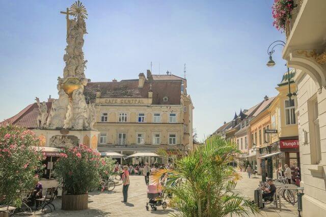 Baden bei Wien Hauptplatz