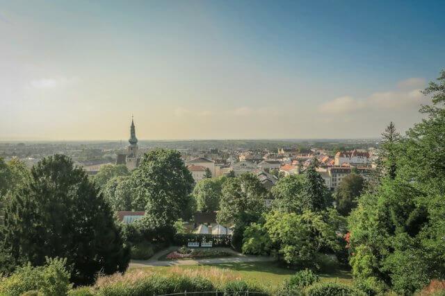 Baden bei Wien Aussicht Beethoventempel