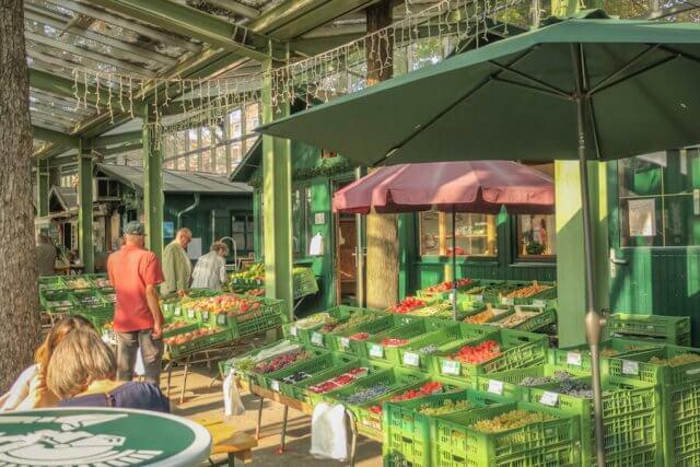 Baden bei Wien Grüner Markt