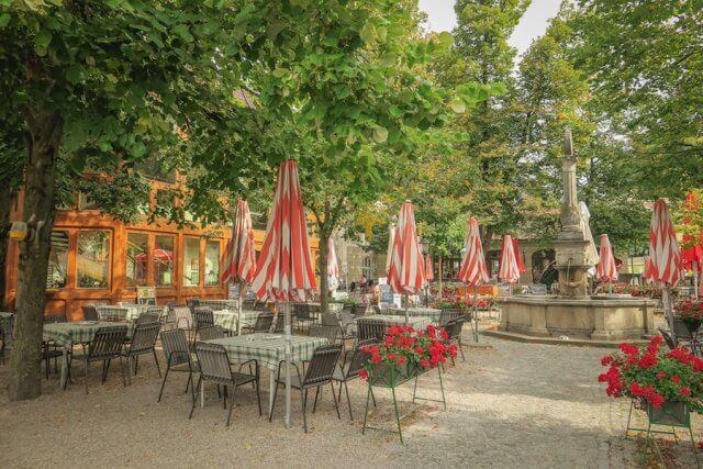 Baden bei Wien Kloster Biergarten