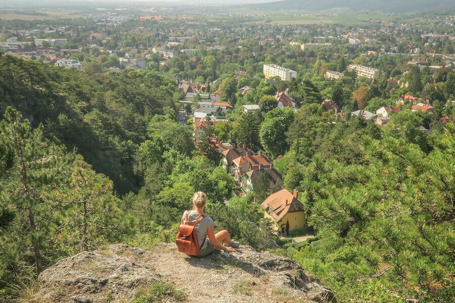 Baden bei Wien Wienerwald Blick
