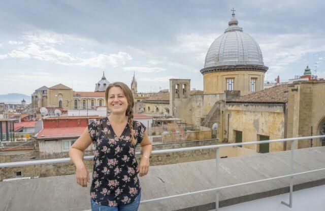 Italien Neapel Madre Museum