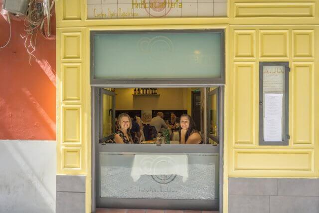 Italien Neapel Restaurant Antica Latteria