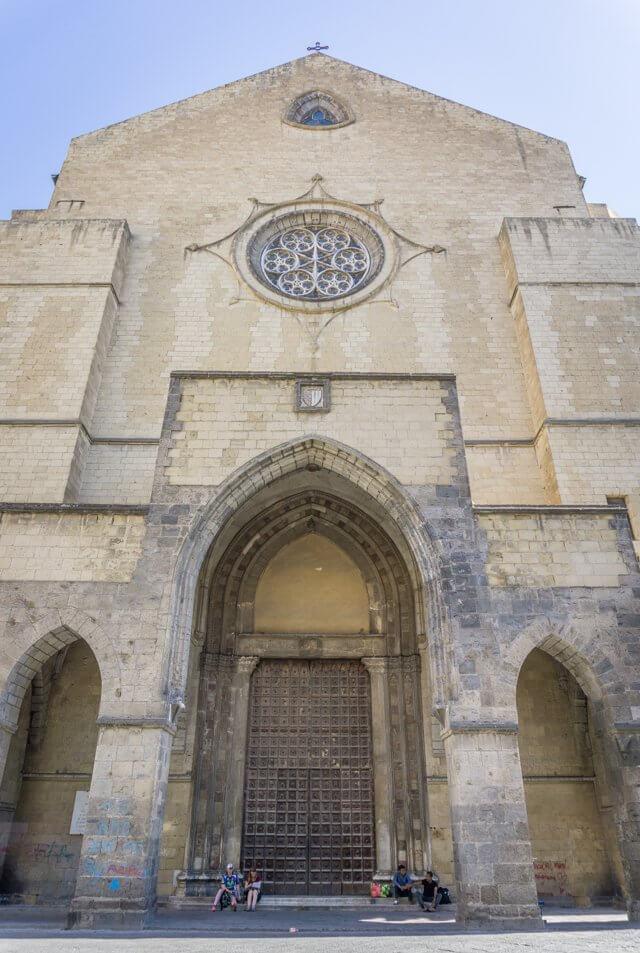 Italien Neapel Altstadt Basilika