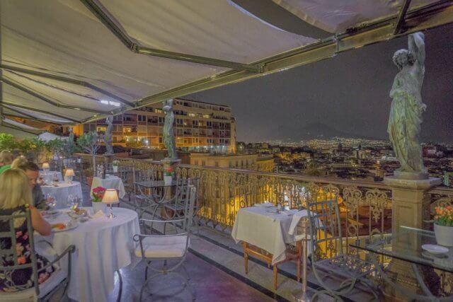 Italien Neapel Restaurant Georges