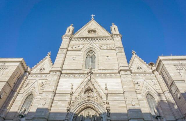 Italien Neapel Altstadt Duomo