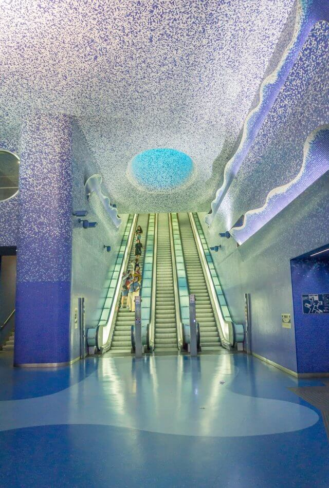 Italien Neapel Metro Kunst
