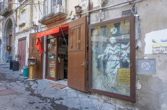 Italien Neapel Streetart