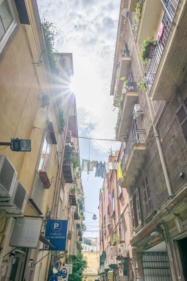 Italien Neapel Altstadt