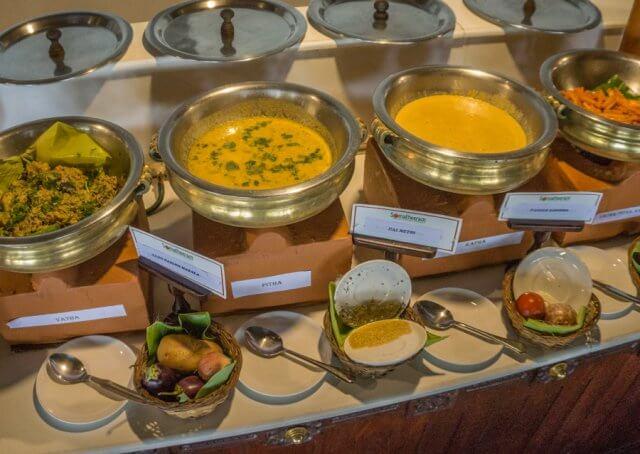 Kerala Ayurveda Kur Südindien Essen