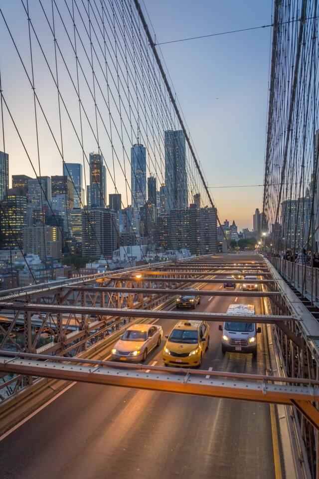 New York City Manhattan Brooklyn Bridge