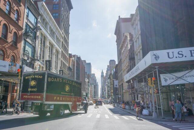 New York City Manhattan Soho