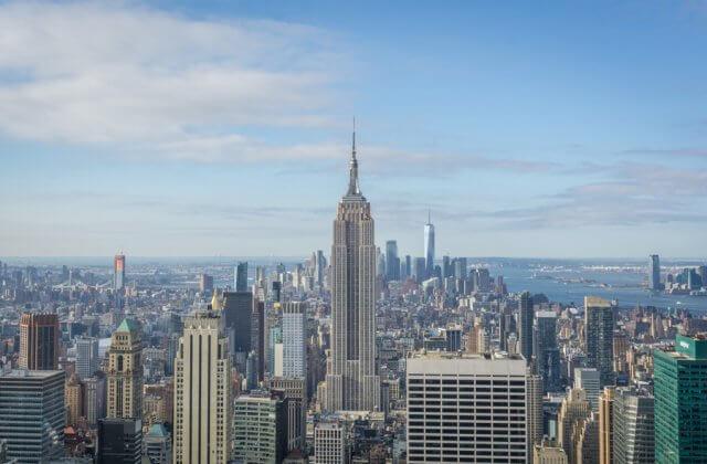 New York City Manhattan Top of the Rocks