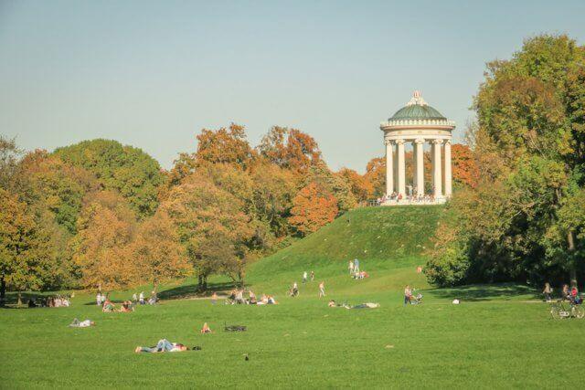 Ausflugsziele Bayern Englischer Garten