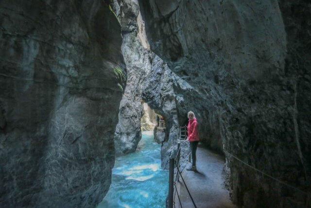 Ausflugsziele Bayern Partnachklamm Garmisch Patenkirchen