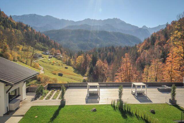 Ausflugsziele Bayern Garmisch Patenkirchen Das Graseck Ausblick Zimmer