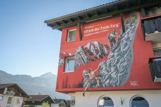Ausflugsziele Bayern Partnachklamm Garmisch Patenkirchen Lüftlmalerei